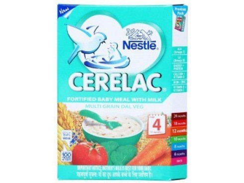 Nestle Cerelac - Multi Grain Dal Veg (Stage 4), 300 gm Carton