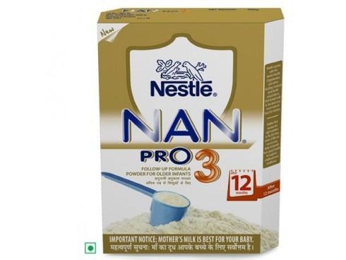 Nestle Nan Pro - Stage 3, 400 gm Carton