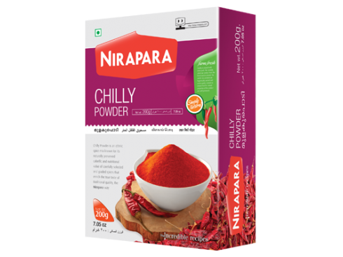 NIRAPARA CHILLI (MULAKU) POWDER 100GM