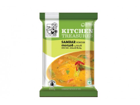 KITCHEN TREASURE SAMBAR POWDER 100 GM