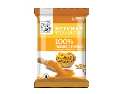 KITCHEN TREASURES TUMERIC POWDER 250 GM