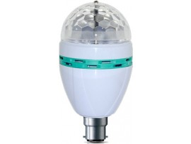 DP 3 W LED Rotating Bulb