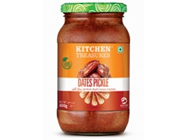 KITCHEN TREASURES DATES PICKLE 400GM