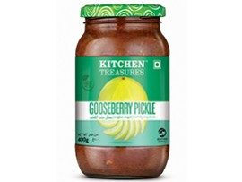 KITCHEN TREASURES GOOSEBERRY PICKLE 400GM