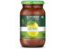 KITCHEN TREASURES LIME PICKLES 150GM