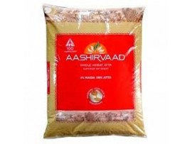 ITC AASHIRVAAD WHOLE WHEAT ATTA 5KG