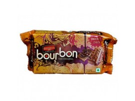 BRITANNIA TREAT BOURBON CREAM BISCUIT 75GM