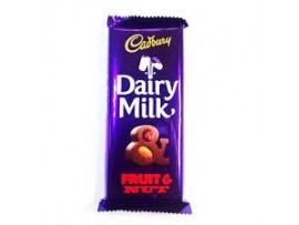 CADBURY DAIRY MILK FRUIT & NUT 40GM