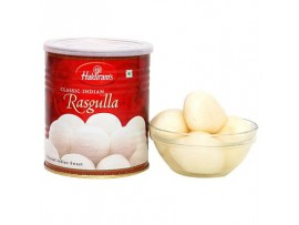HALDIRAM'S(N) SWEET ROSSAGULLA 500GM TIN