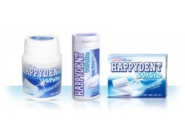 PERFETTI HAPPYDENT CHEWING GUM WHITE 18.2GM