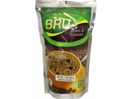 BRU GREEN LABEL ROAST GROUND FILTER COFFEE 200GM