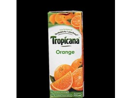TROPICANA JUICY ORANGE 200ML