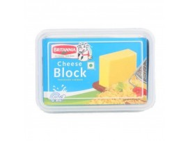 BRITANNIA CHEESE BLOCK 400GM