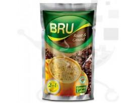 BRU GREEN LABEL ROAST GROUND FILTER COFFEE 500GM
