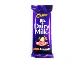 CADBURY DAIRY MILK ROASTED ALMOND 40GM