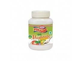FUN FOODS EGGLESS MAYONNAISE 275GM BOTTLE
