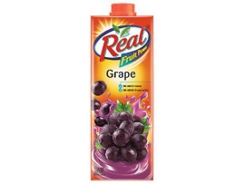 REAL GRAPE NECTAR JUICE 1L