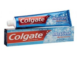COLGATE MAX FRESH MINT BREATH STRIPS TOOTH PASTE 150GM