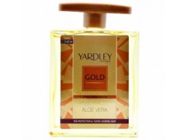 YARDLEY GOLD WITH ALOE VERA AFTER SHAVE LOTION 50ML