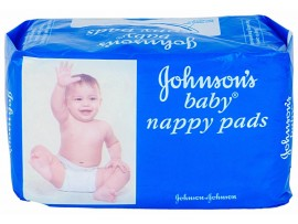JOHNSON'S BABY NAPPY PAD 10'S