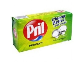 PRIL DISHWASHING BAR LIME & VINEGAR 400GM