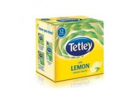 TETLEY LEAF 12S HARD TEA BAGS LEMON