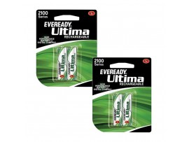 EVEREADY BATTARIES AA 2100 PACK OF 2R