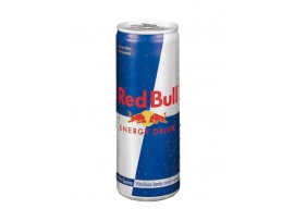 RED BULL BLUE AND SILVER 250ML CAN