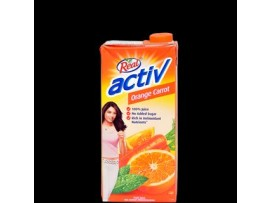 REAL ACTIVE ORANGE CARROT 1L