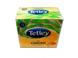 TETLEY LEAF 12S HARD TEA BAGS GINGER