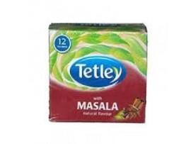 TETLEY LEAF 12S HARD TEA BAGS MASALA