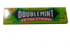 WRIGLEY DOUBLE MINT XTRA STRONG BUBBLE GUM 13GM