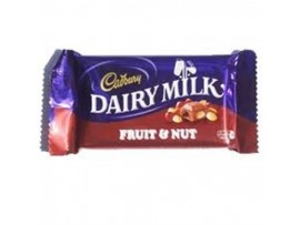CADBURY DAIRY MILK FRUIT & NUT 80GM