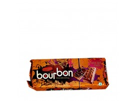 BRITANNIA TREAT BOURBON CREAM BISCUIT 150GM