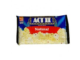 ACT II MICROWAVE POPCORN NATURAL 85GM
