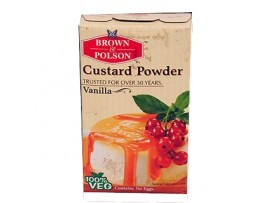 BROWN & POLSON CUSTARD POWDER VANILLA 100GM