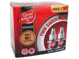 GOOD KNIGHT ADVANCED ACTIV PLUS REFILL CARTRIDGE TWIN PACK