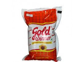 GOLD WINNER REFINED SUNFLOWER OIL 1L