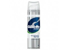 GILLETTE PURE & SENSITIVE SHAVING FOAM 250ML