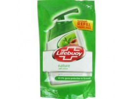 LIFEBUOY NATURE HAND WASH REFILL PACK 185ML