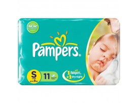PAMPERS DIAPERS SMALL 11'S