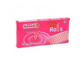 PICKWICK WAFER ROLLS STRAWBERRY 40GM