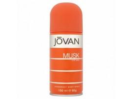 JOVAN MUSK MENS DEO BODY SPRAY 150ML