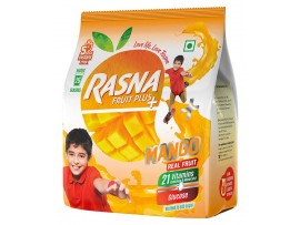 RASNA FRUIT PLUS 500GM POUCH MANGO