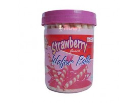 PICKWICK WAFER STICKS STRAWBERRY BISCUIT 300GM JAR