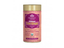 ORGANIC TULSI TEA GINGER 100GM ( TIN )