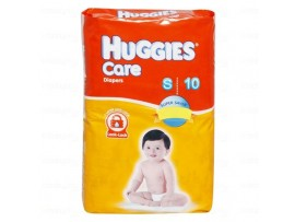 HUGGIES CARE DIAPERS SMALL 10'S