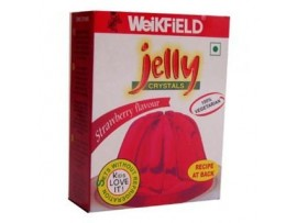 WEIKFIELD STRAWBERRY VEG JELLY 90 GM