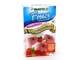 WEIKFIELD ICE CREAM MIX STRAWBERRY100GM