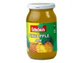 GRANDMAS PINEAPPLE JAM 500GM BOTTLE